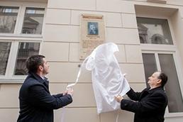 Pógyor István emléktábla avatással egybekötött szimpóziumot rendezett a BTK