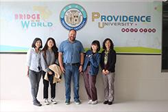 Együttműködés a tajvani Providence Egyetemmel
