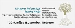 A Magyar Református Egység Napja