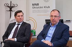 MNB-s kerekasztal-beszélgetés az ÁJK-n