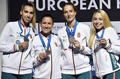 Egyetemünk hallgatója Eb ezüstérmet nyert a magyar női kardcsapattal