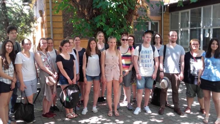 A Tübingeni Egyetem küldöttségének látogatása a budapesti TFK-n