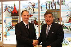Rektori látogatás Japánba