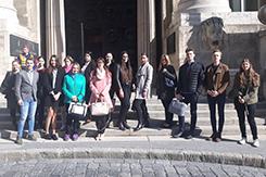 Tárgyaláslátogatás a Kúrián a kari TDT szervezésében