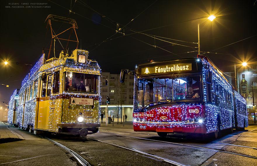 Karácsonyi utazások Budapesten