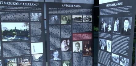 Közös kiállítás emlékeztet a holokauszt és a délvidéki népirtás borzalmaira