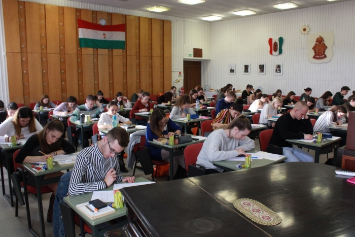 Országos Szendrei János Matematikaverseny a KRE TFK-n