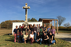 Tanulmányi kirándulás a Balaton-felvidék német nemzetiségi falvaiban