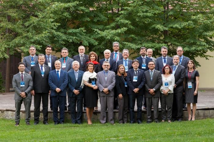Brazil delegáció a Károlin