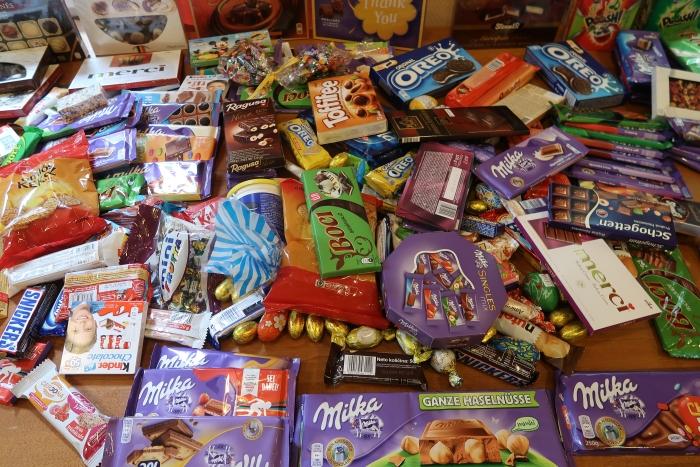csokoládégyűjtés