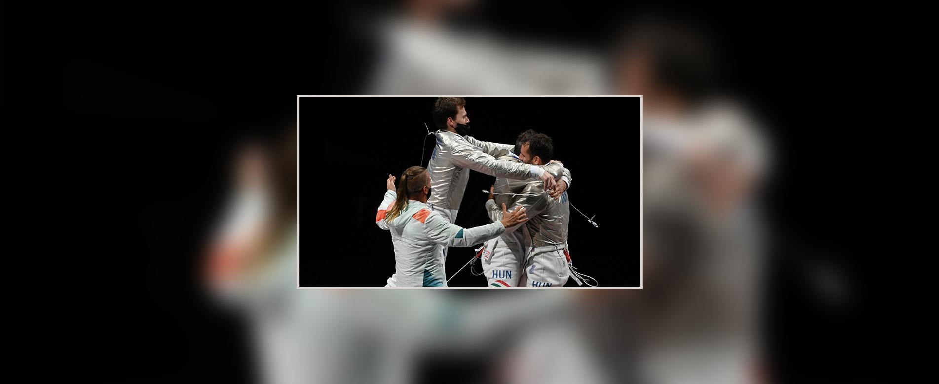 Olimpiai bronzérmesek alumni hallgatóink