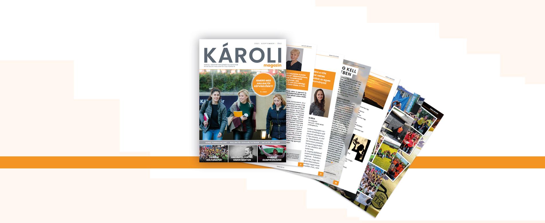 Megjelent a Károli Magazin őszi száma